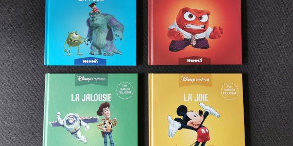 Livres Disney Émotions