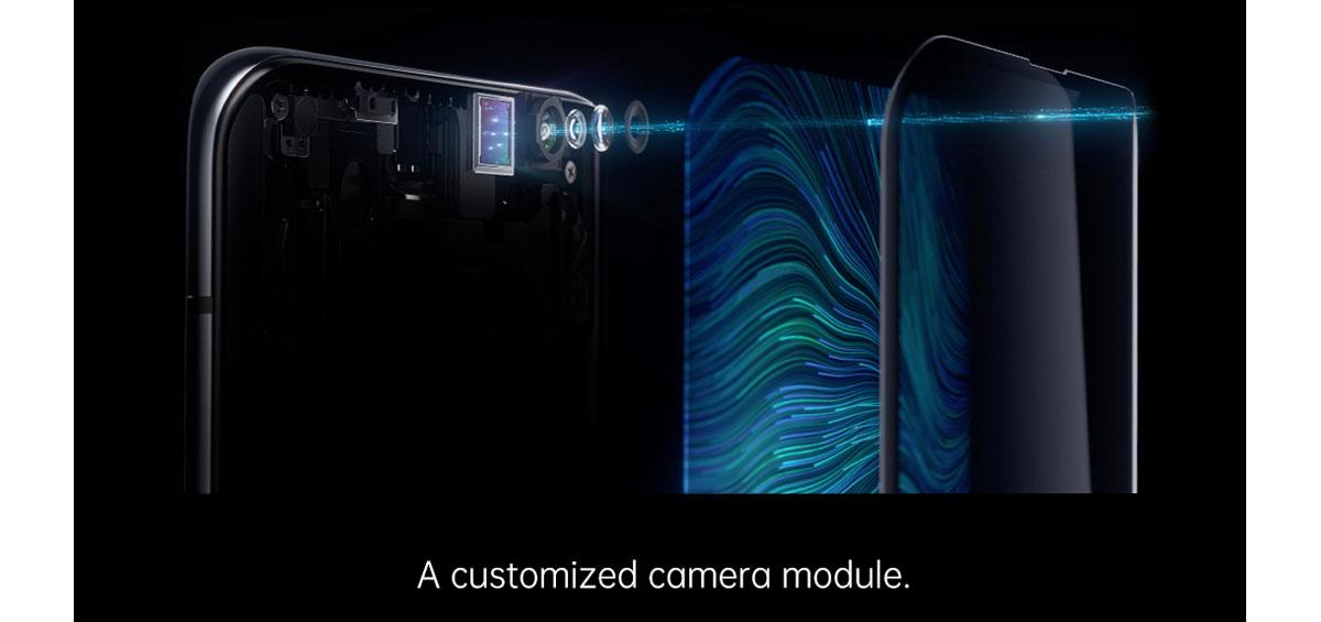 Oppo premier smartphone avec capteur photo sous écran