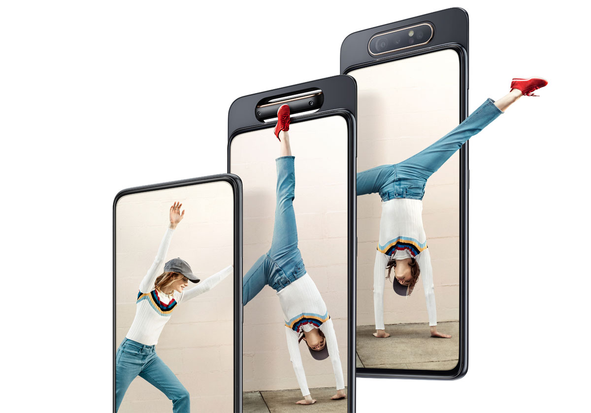 Samsung Galaxy A90 nouvelles fuites