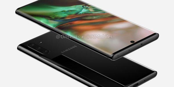 Samsung galaxy Note 10 des infos sur la batterie