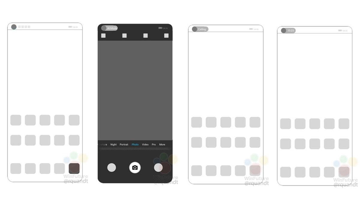 Huawei un brevet pour un capteur photo sous l'écran