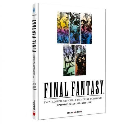 Livre chronique Final Fantasy Encyclopédie Officielle Vol 2