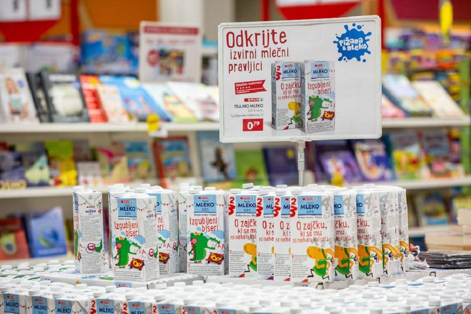 packs de lait livres