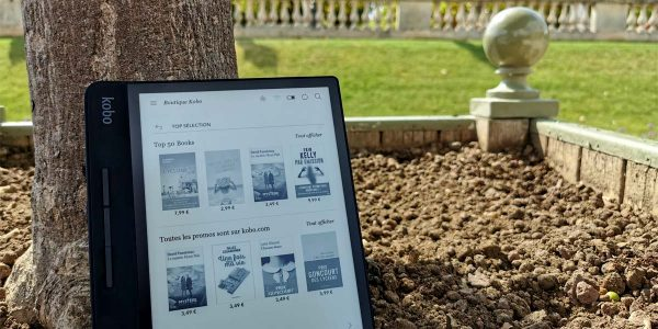 kobo kindle kobo forma bon plan