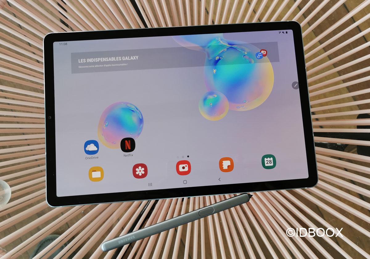 Samsung Galaxy Tab S6 Prise en main et vidéo
