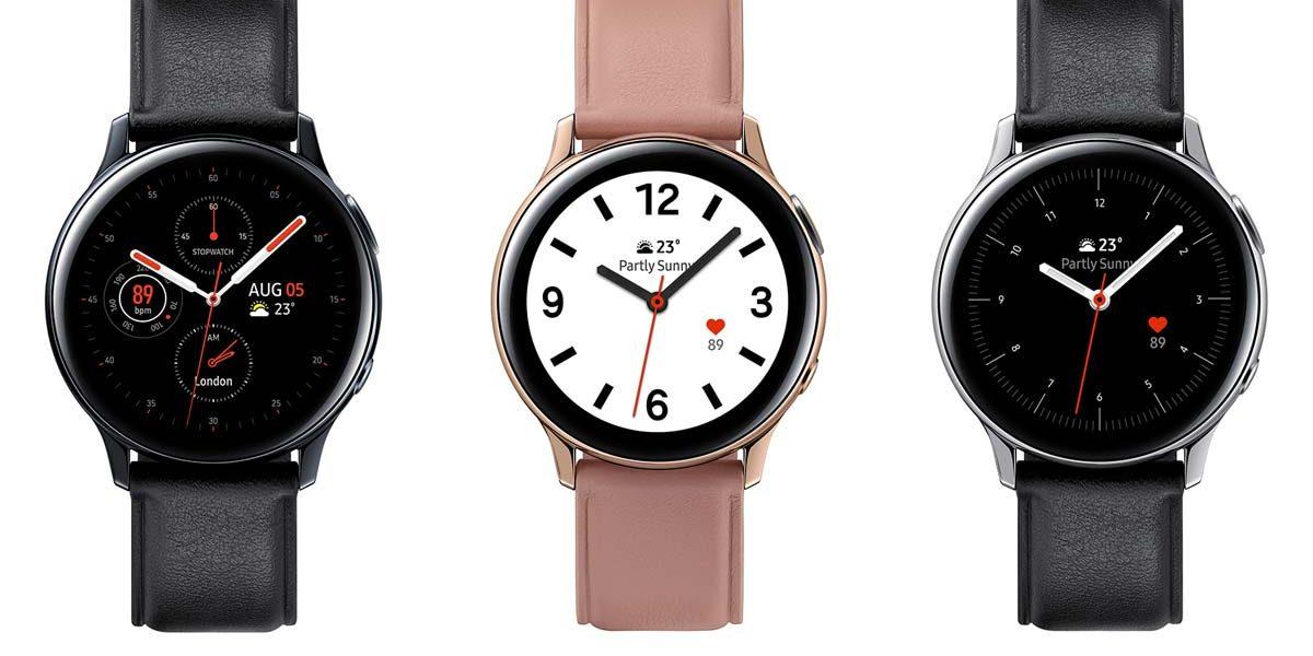 Galaxy Watch active 2 avec lunette rotative et ECG