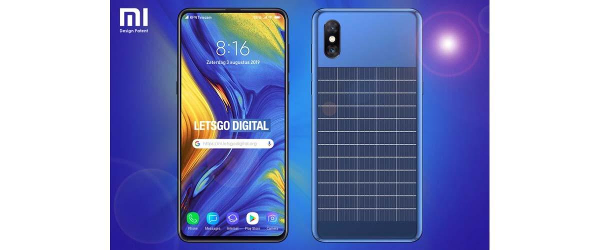 Xiaomi un smartphone avec panneau solaire