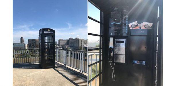 cabine telephonique livre audio