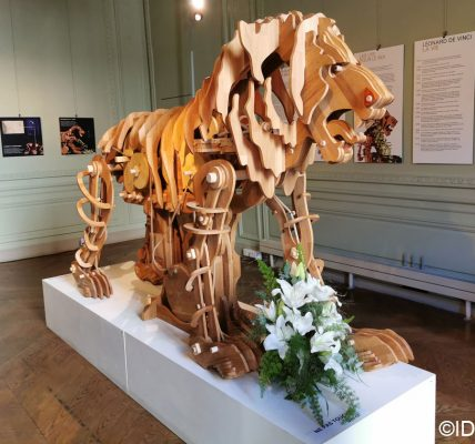 Expo Lion mécanique de Léonard de Vinci
