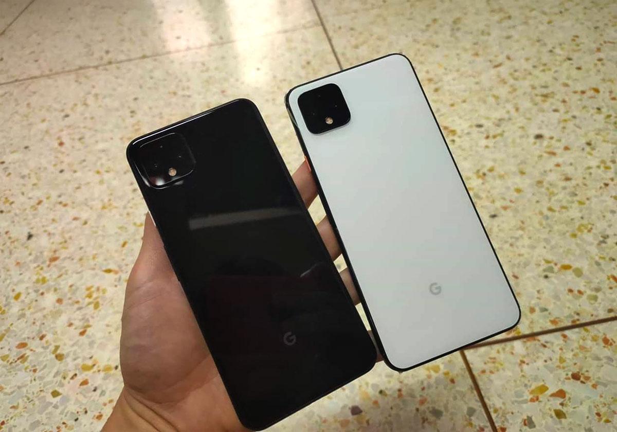 Google Pixel 4 les trois couleurs en photos et vidéo