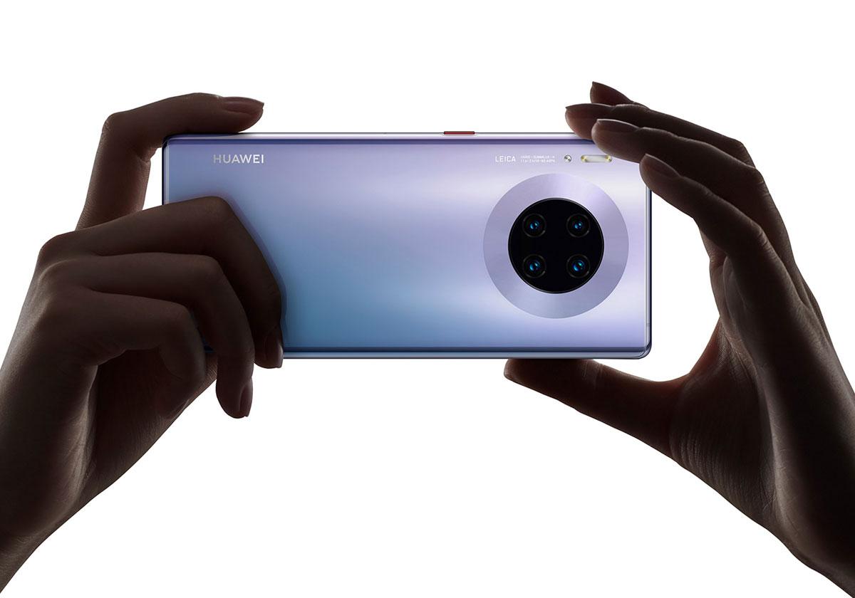 Les Huawei Mate 30 finalement disponible en France
