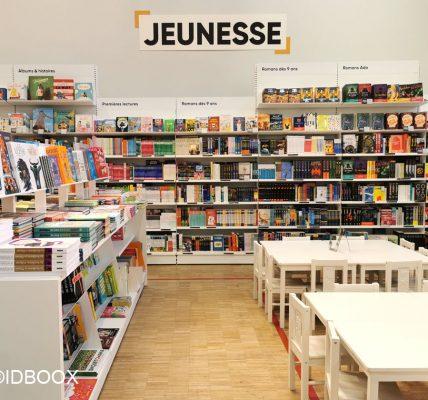 carte librairies jeunesse
