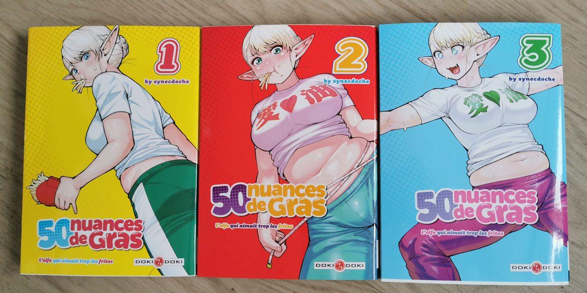 Manga 50 nuances de gras chez Doki Doki