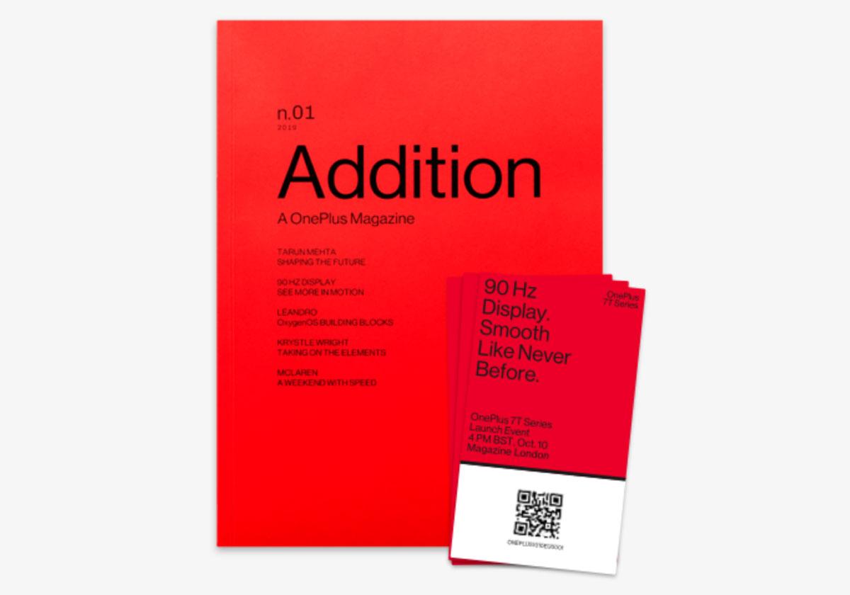 OnePlus 7T annonce du lancement officiel