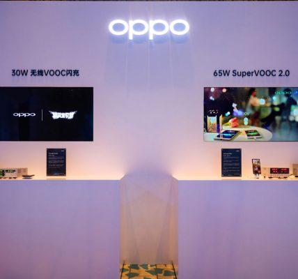 Oppo annonce la charge Super Vooc à 65W