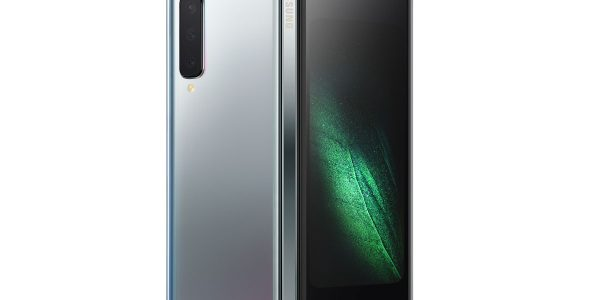 Samsung Galaxy Fold 2 un schéma montre son desiign