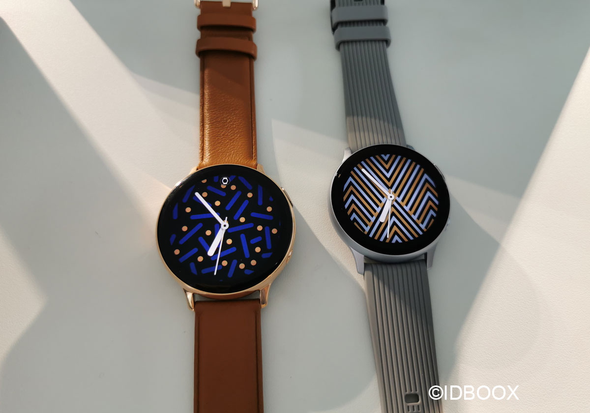 Samsung Galaxy Watch Active 2 Prise en main