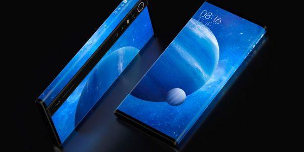 Xiaomi Mi Mix Alpha son écran dépasse les 180%