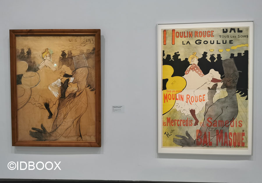 Toulouse Lautrec exposition grand palais moulin rouge
