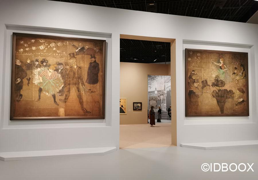 Toulouse Lautrec exposition grand palais cabane de la goulue foire du trone