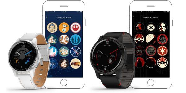 Garmin sort deux montres Star Wars