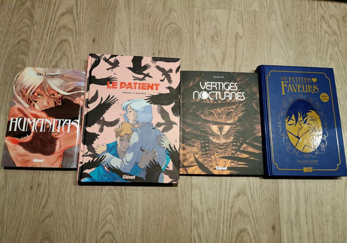 Quatre BD à découvrir aux éditions Glénat