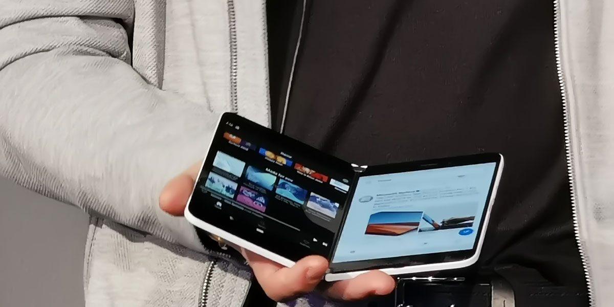 Microsoft Surface Neo et Duo - Le fonctionnement du double écran expliqué