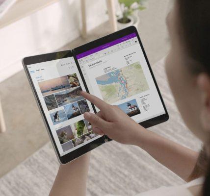 Microsoft Surface Duo et Neo avec double écran