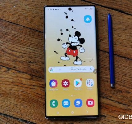 Samsung prépare un smarpthone avec une caméra sous l'écran