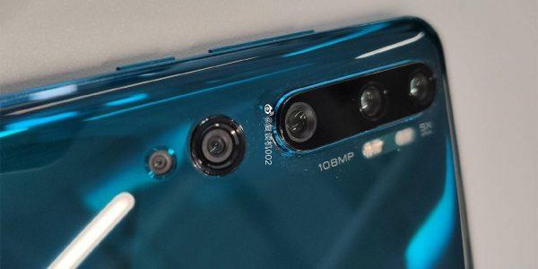 Xiaomi CC9 Pro capteur photo de 108MP