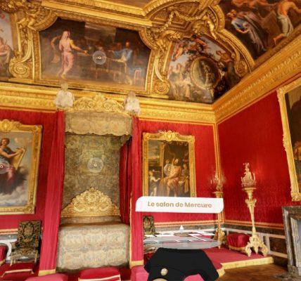 chateau de versailles VR google realite virtuelle
