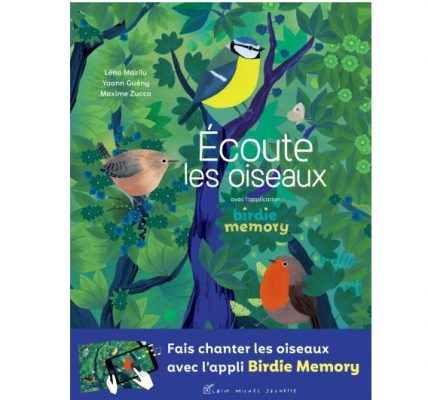 ecoute les oiseaux livre réalite augmentee