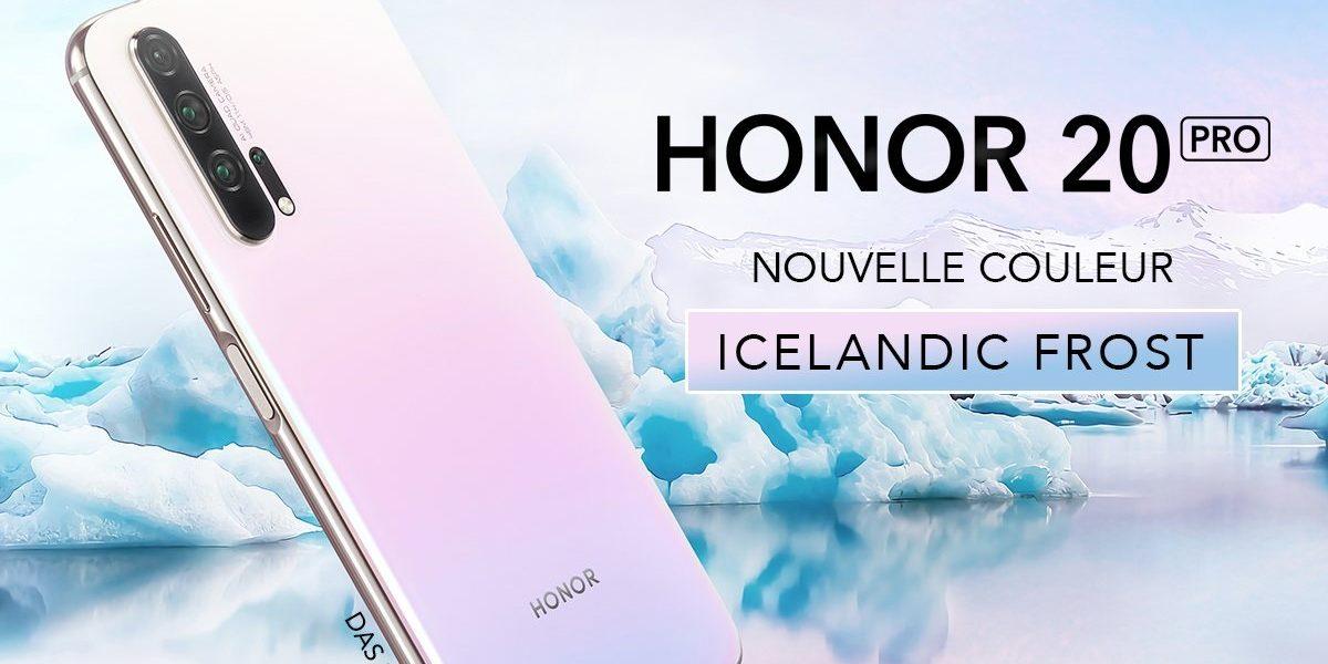 honor 20 pro islandic bon plan