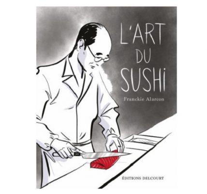 l'art du sushi bd