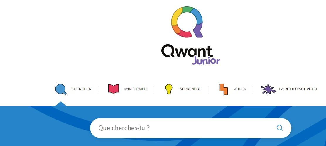 qwant junior web