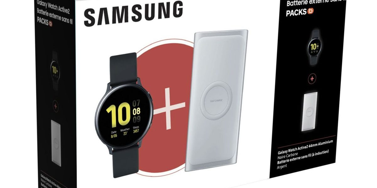 Black Friday 2019 - Pack Galaxy Watch Actiive 2 baisse de prix