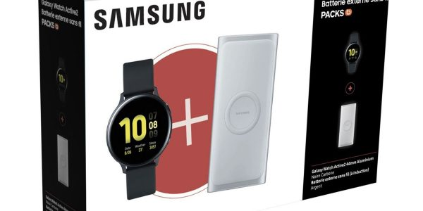 Black Friday 2019 - Pack Galaxy Watch Actiive 2 baisse de prix