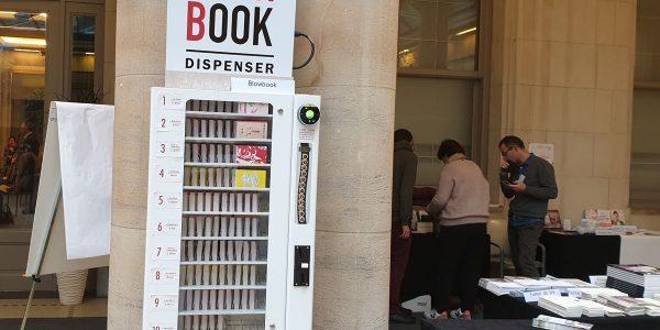 BlowBook distributeur automatique de livres