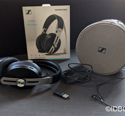 Sennheiser Momentum 3 Wireless test du casque audio