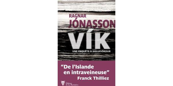 Livre Vika Ragnar Jonasson chronique
