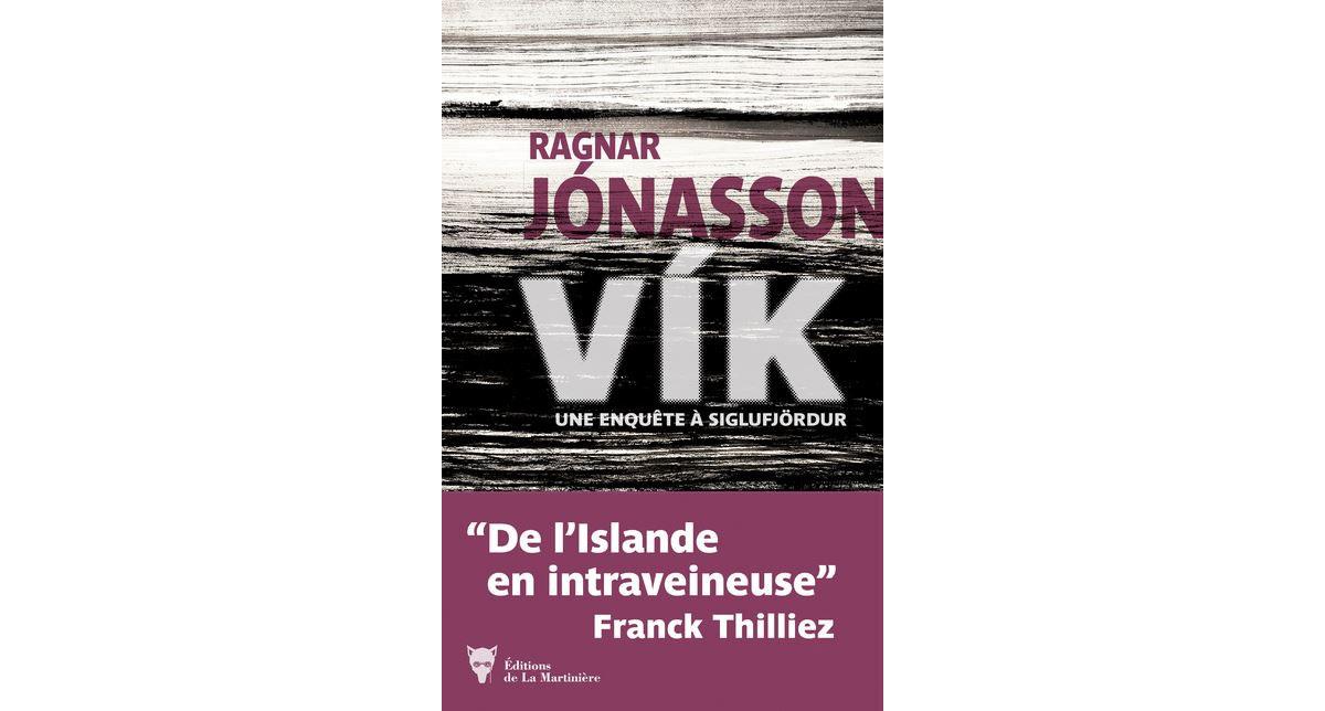 Livre Vik de Ragnar Jonasson chronique