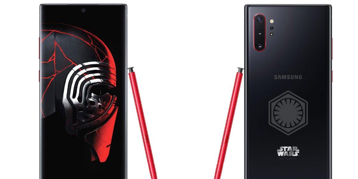 Galaxy Note 10+ spécial pour la sortie de Star Wars au cinéma