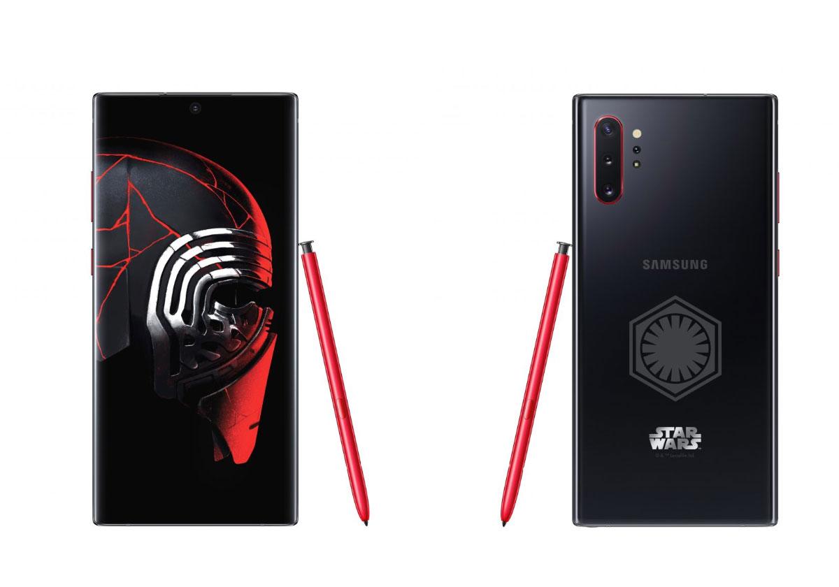 Un Galaxy Note 10+ spécial pour la sortie de Star Wars au cinéma