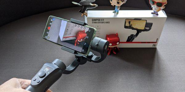Test stabilisateur smartphone PNJ Gimpod X1