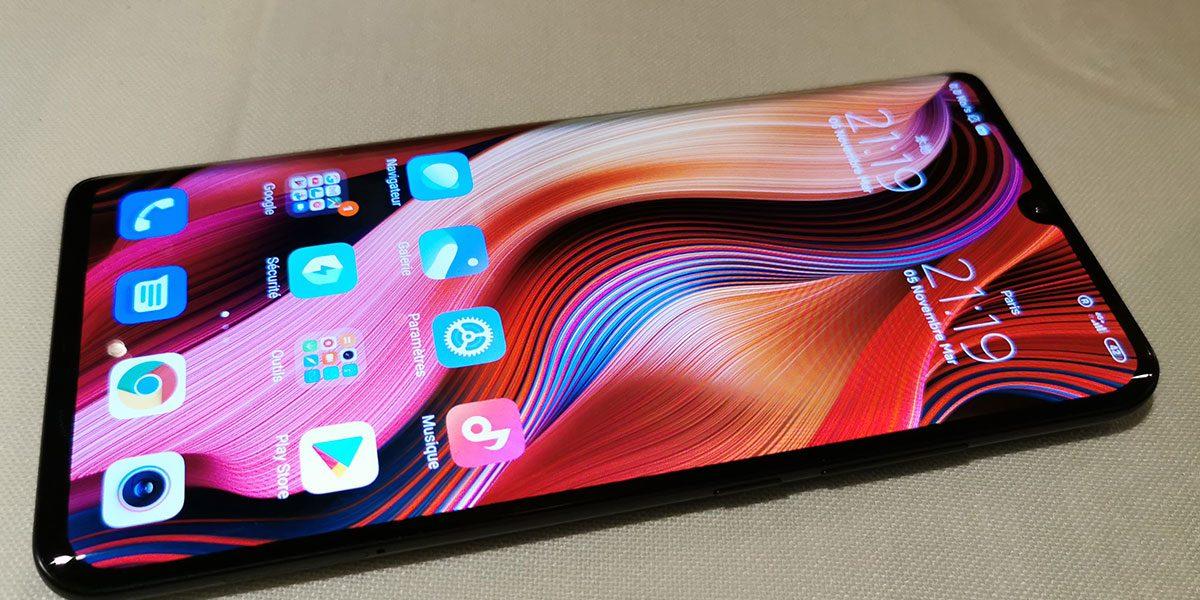 Xiaomi Mi Note 10 baisse de prix