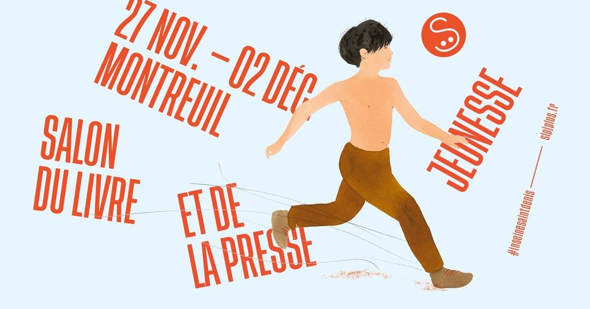 salon du livre et de la presse jeunesse montreuil 2019