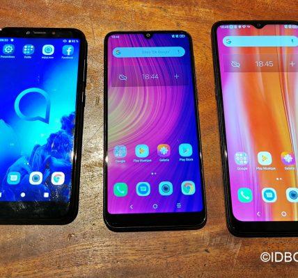 Alcatel 3x TRois smartphones à moins de 150€
