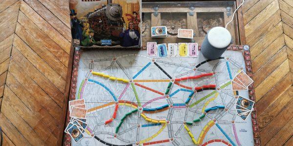Test Amazon Alexa et le jeu de société Les Aventuriers du rail