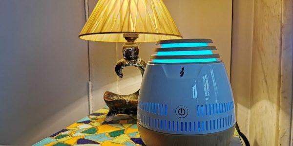 Test Enceinte audio lifestyle Aroma Sound