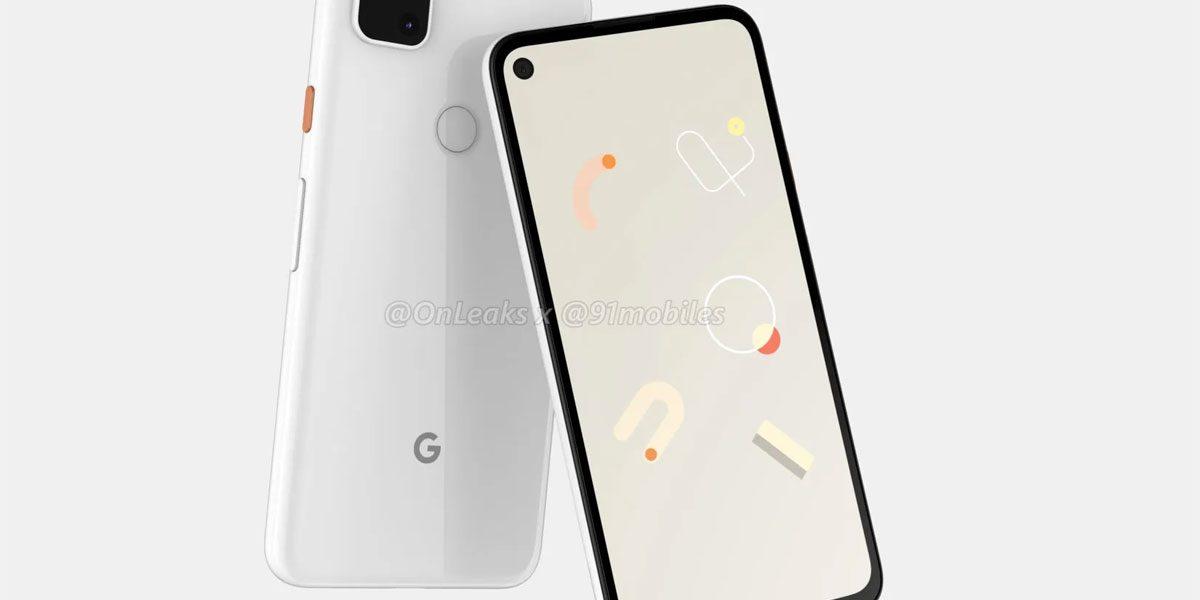 Google Pixel 4a de nouvelles photos
